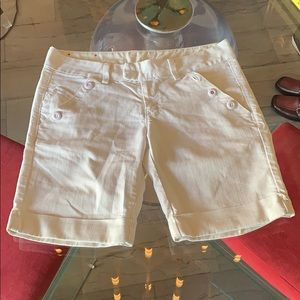 Women's jean shorts by Lucky Brand made in the USA
